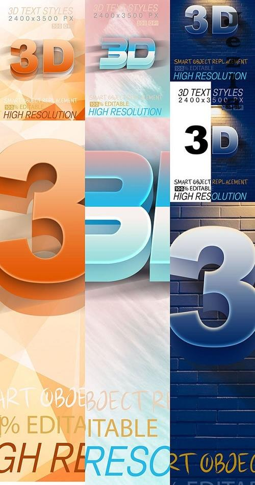 Bundle Mix 3D Text Effect 03_9_20 28418410