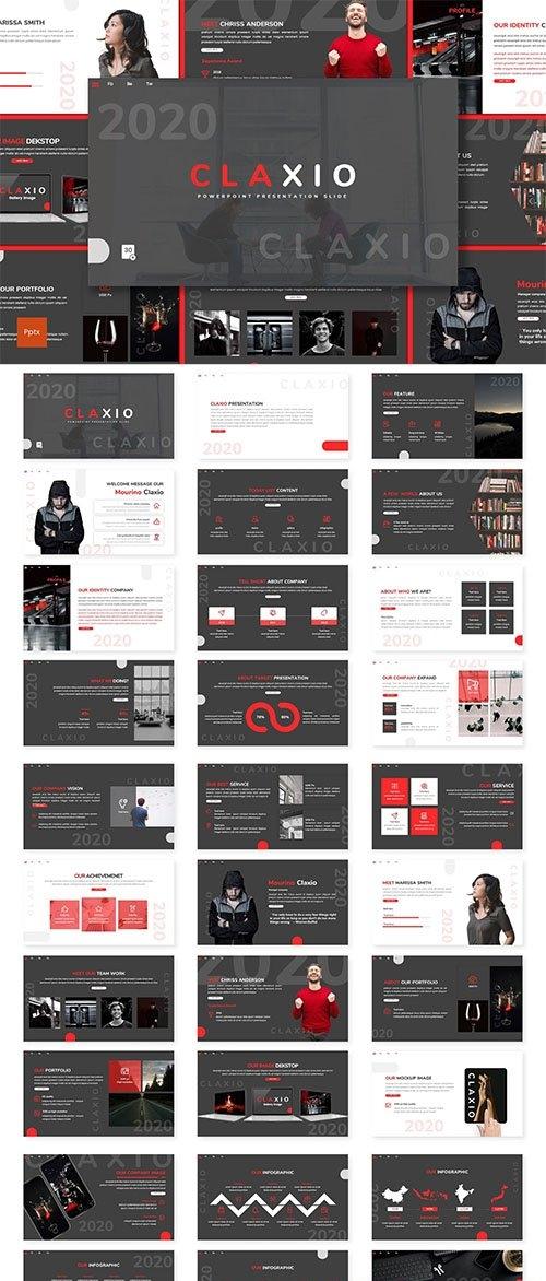 Claxio - Creative Powerpoint Template