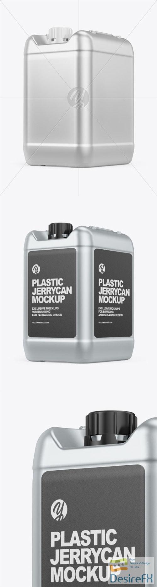 Metallic Jerrycan Mockup 66541