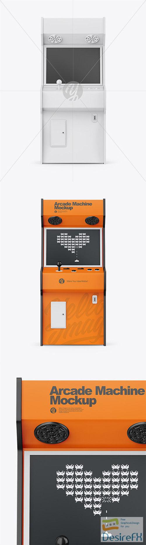 Arcade Machine Mockup 66553