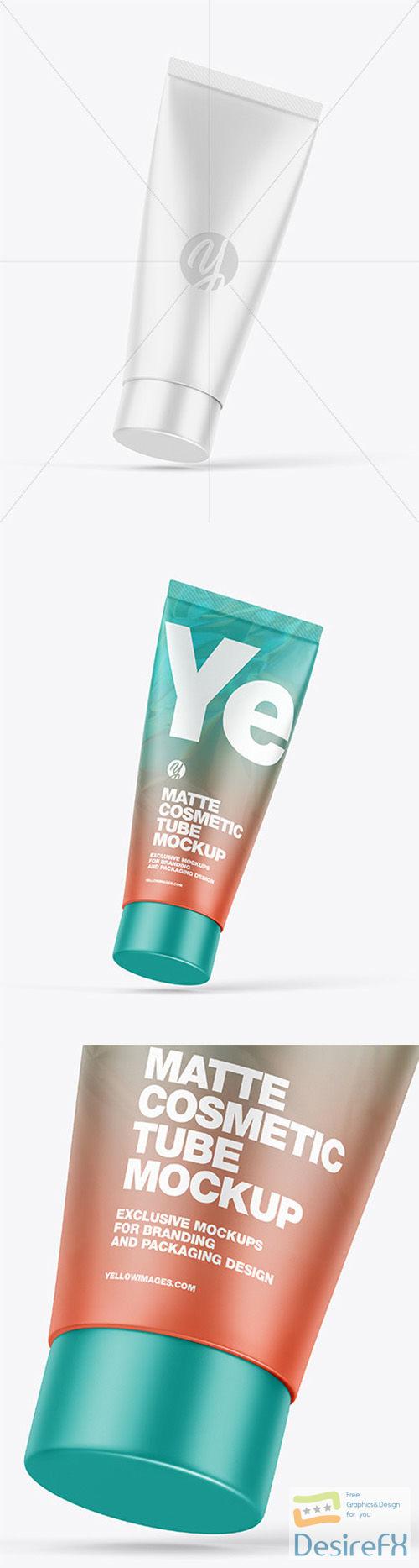 Matte Cosmetic Tube Mockup 66397