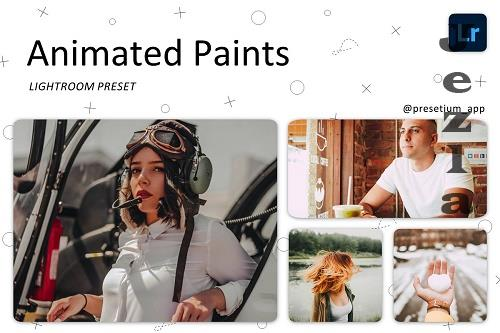CreativeMarket - Animated Paints - Lightroom Presets 5227444