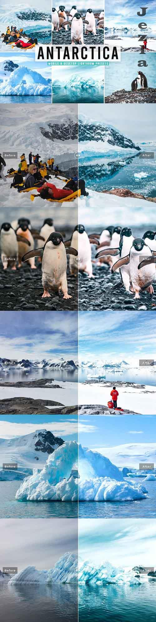 CreativeMarket - Antarctica Pro Lightroom Presets - 5495663 - Mobile & Desktop