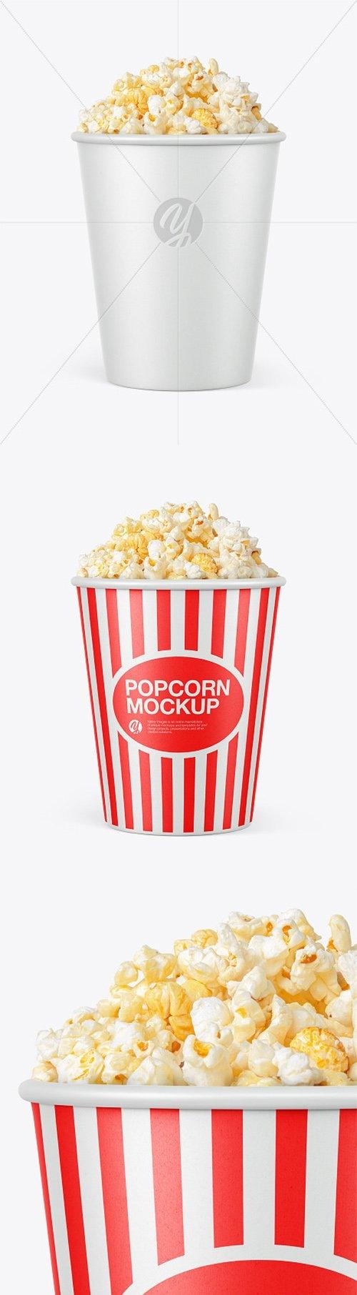Cup Popcorn Mockup 66440