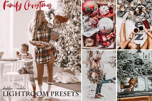 Family Christmas Lightroom Presets - 931381