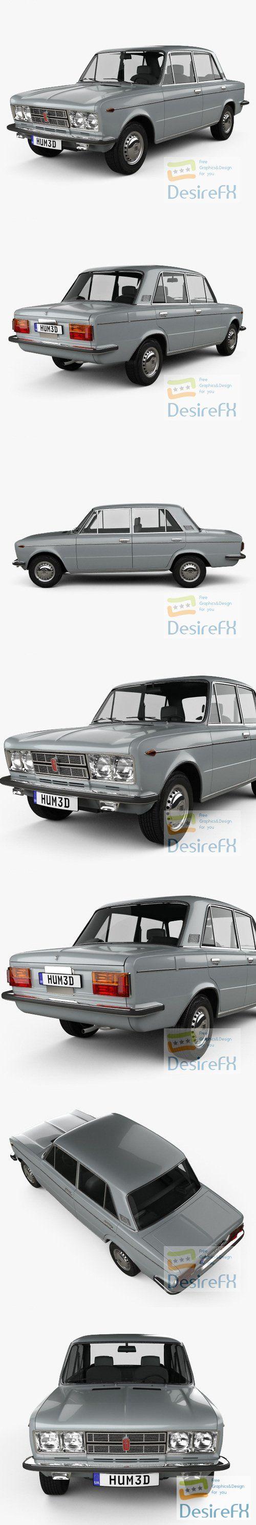Fiat 125 1967 3D Model