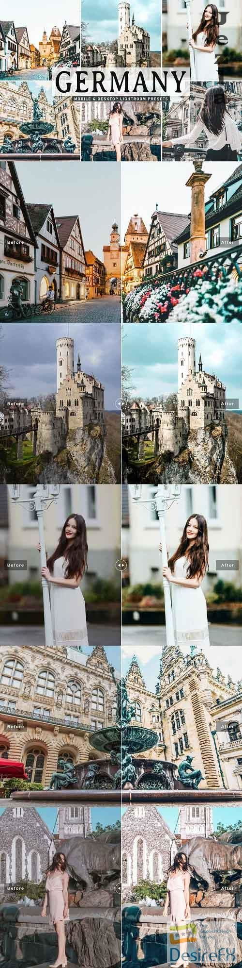 Germany Pro Lightroom Presets - 5539856 - Mobile & Desktop