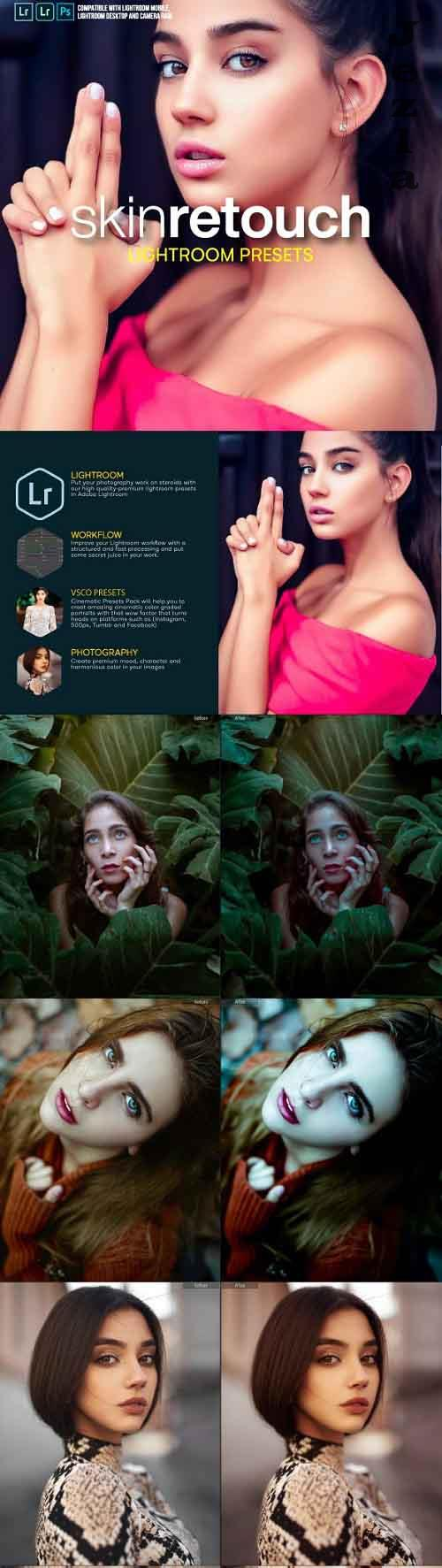 GraphicRiver - 16 Skin Retouch Pro Lightroom Presets 28319200