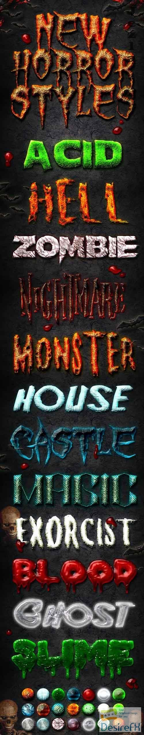 GraphicRiver - New Horror Styles 2072233