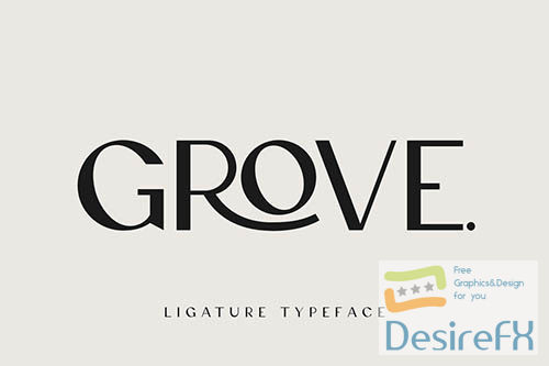 Grove - Modern Ligature Sans Serif