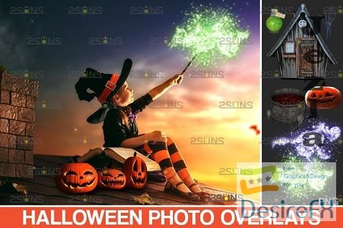 Halloween clipart Halloween overlay, Photoshop overlay - 953146