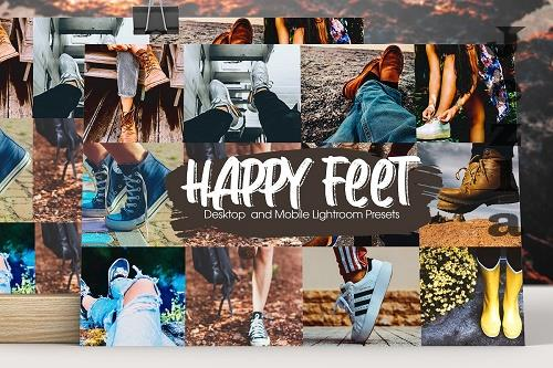 Happy Feet Lightroom Presets - 5295204