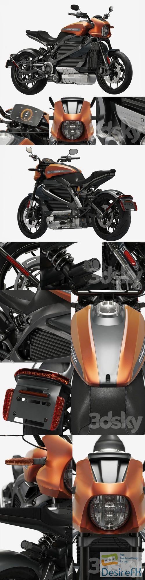 Harley Davidson Livewire 3D Model