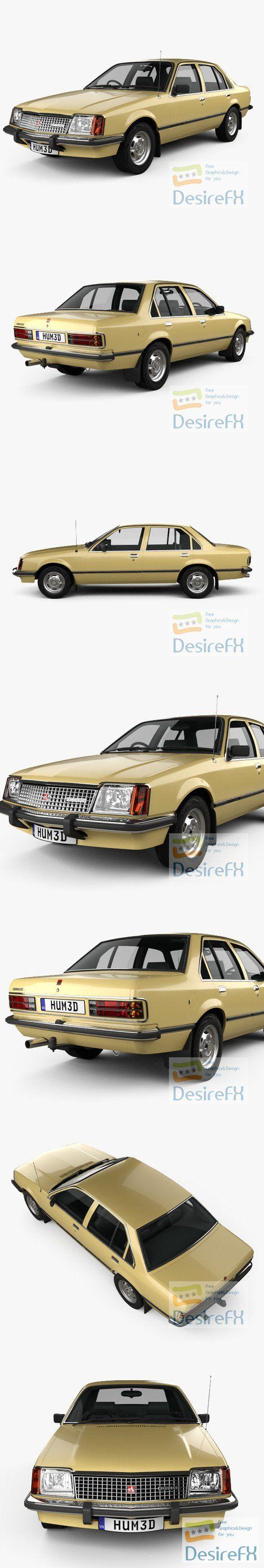 Holden Commodore 1980 3D Model