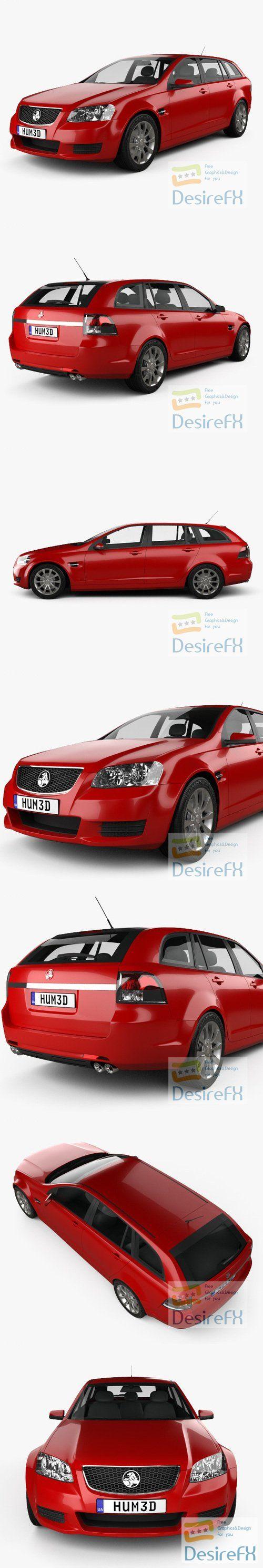 Holden VE Commodore Sportwagon 2012 3D Model