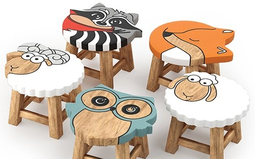 kids furniture01-animal chairs