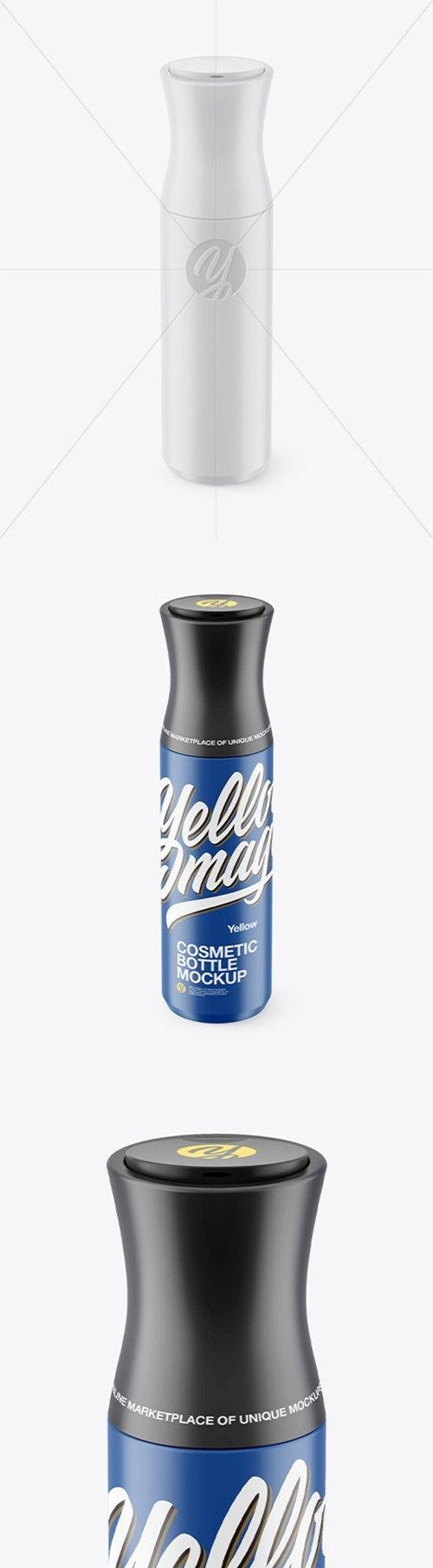 Matte Cosmetic Bottle Mockup  66529