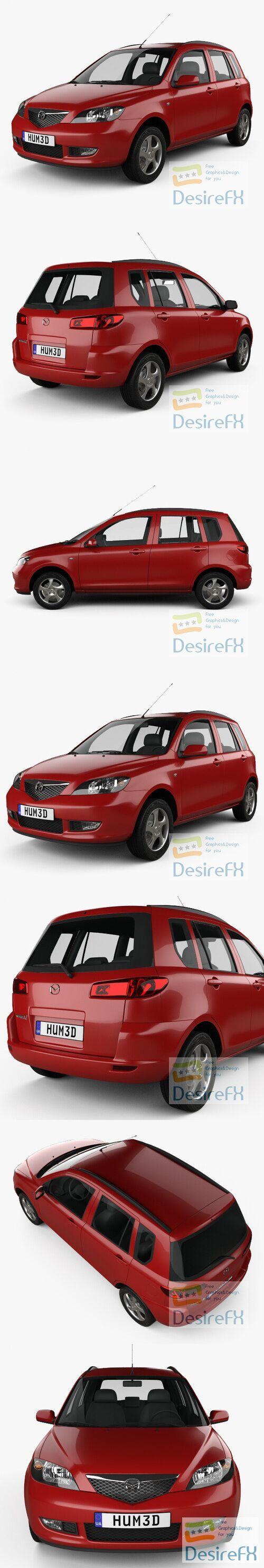 Mazda 2 2003 3D Model