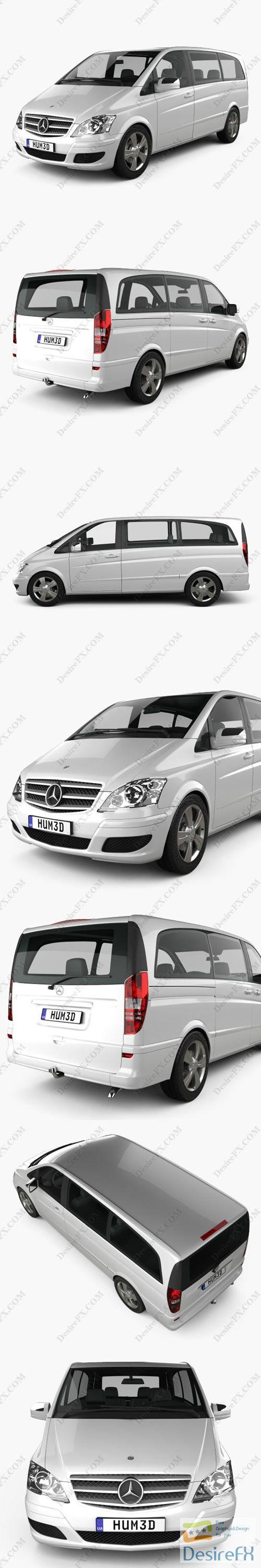 Mercedes-Benz Viano Long 2011 3D Model