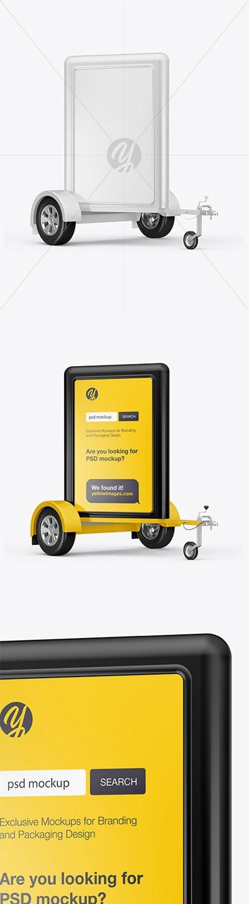 Mobile Adverstising Board Mockups 68317