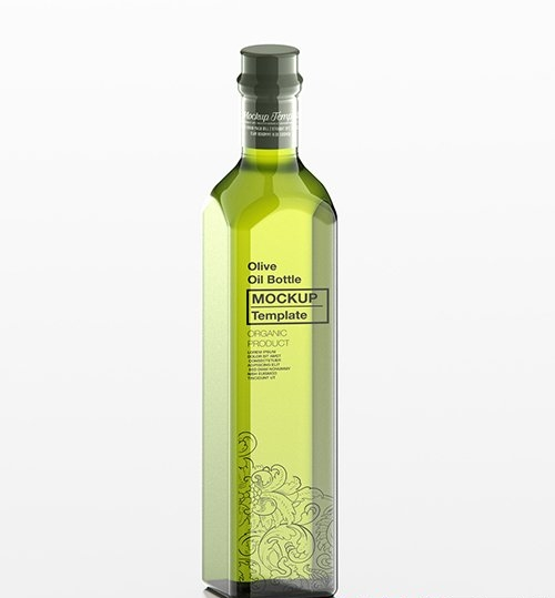 Olive Oil Bottle Mockup 333537173