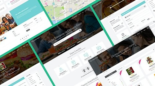 QuickFood PSD - Delivery or Takeaway Food