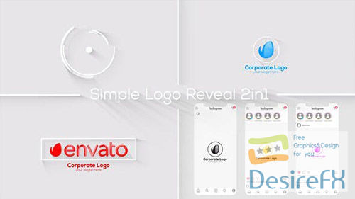Simple Logo Reveal 28995001
