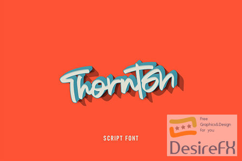 Thornton Script Font