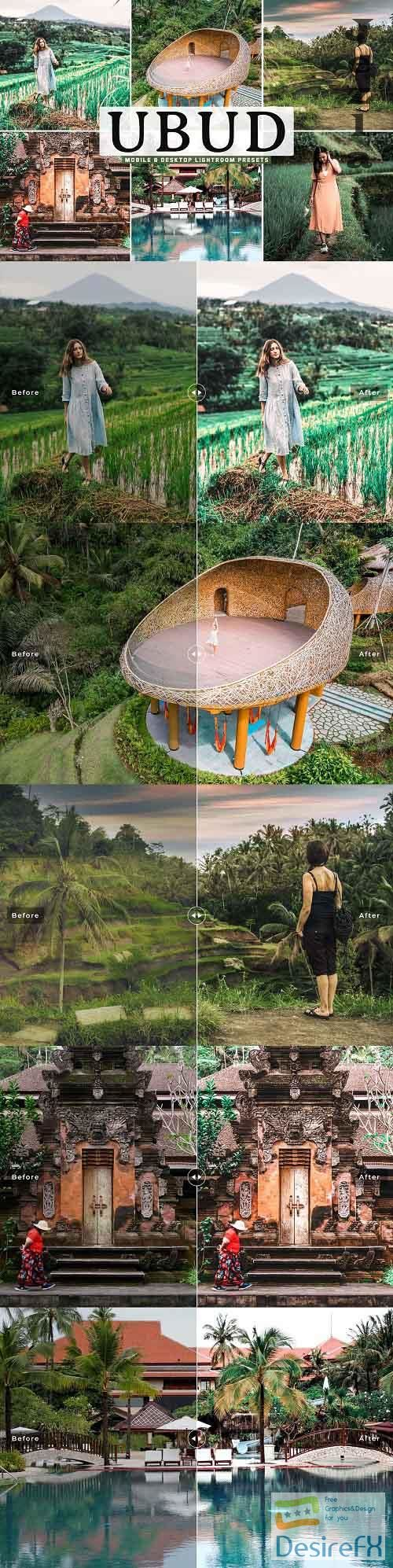 Ubud Pro Lightroom Presets - 5539577 - Mobile & Desktop