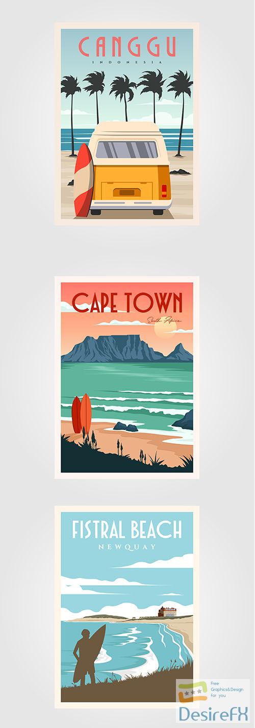 Vintage Poster Set