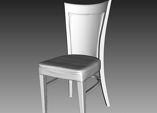 Wooden Chair - 3D Scan