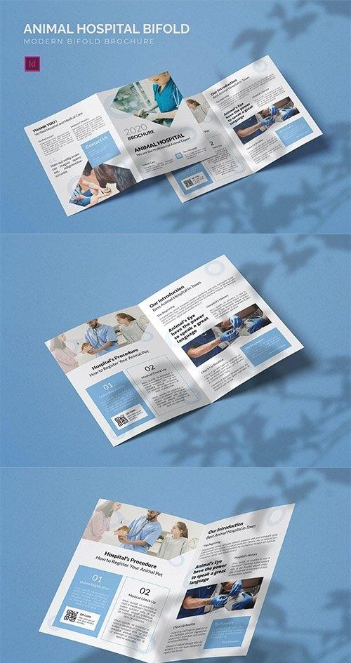 Animal Hospital - Bifold Brochure