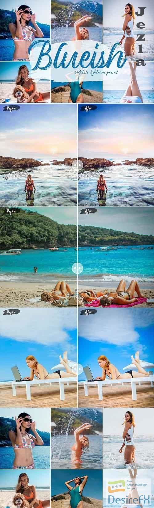 Blueish Lightroom Presets - 5630593