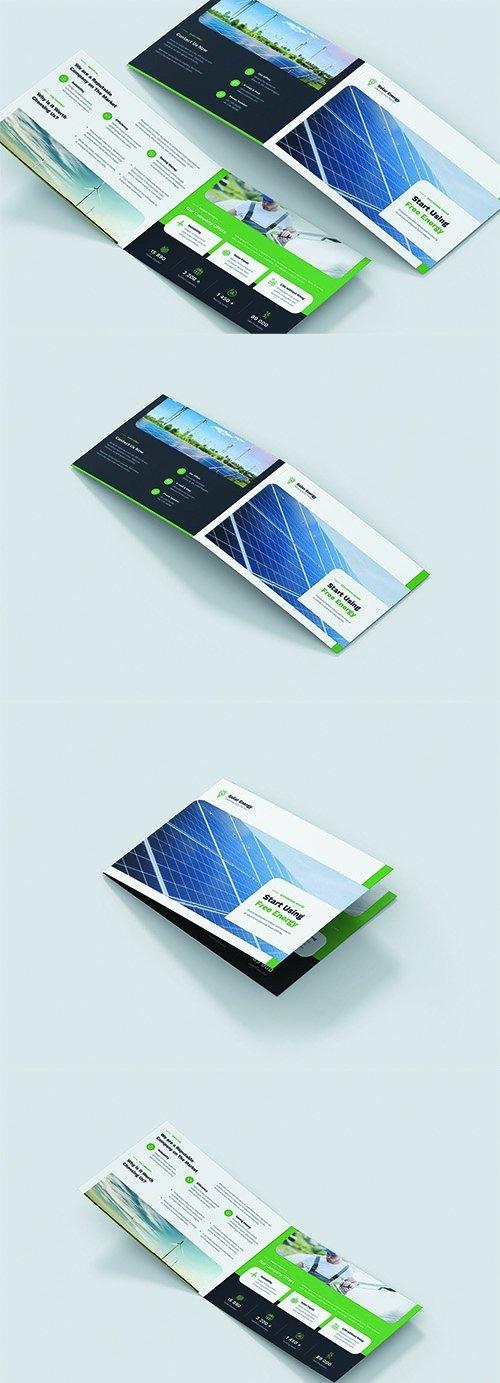 Brochure - Solar Energy Bi-Fold A5 Landscape