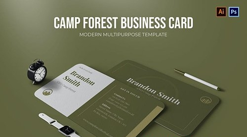Camp Forest - Business Card