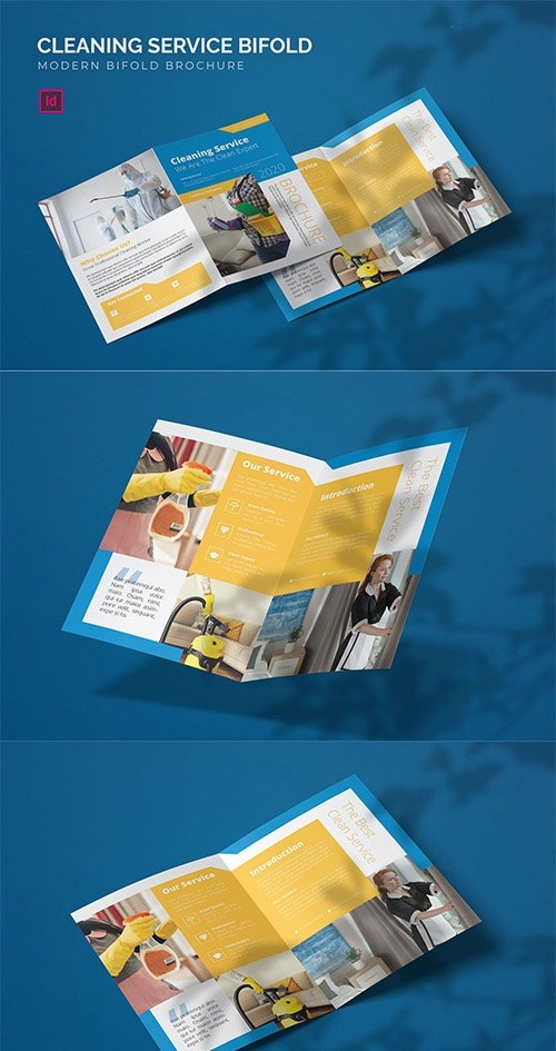 Cleaning Service - Bifold Brochure