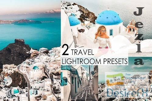 CreativeMarket - 2 travel lightroom presets v1 4851170
