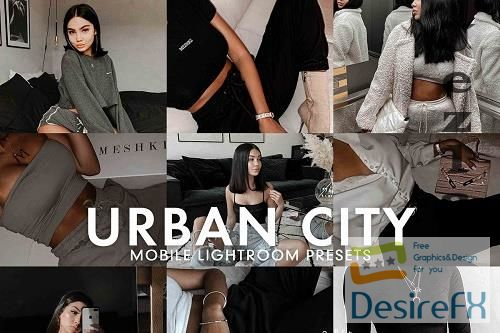 CreativeMarket - 5 Urban City Lightroom Preset 5277226