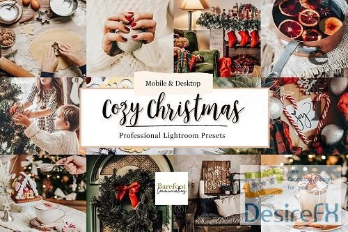 CreativeMarket - Cozy Christmas Lightroom Presets 5495665