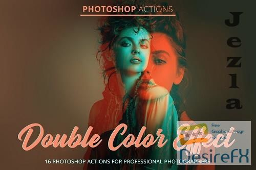 CreativeMarket - Double Color Effect Actions 4842908