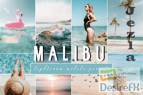 CreativeMarket - Vibrant MALIBU Mobile Phone Presets 4806700