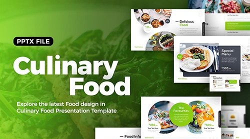 Culinary Food Presentation Template