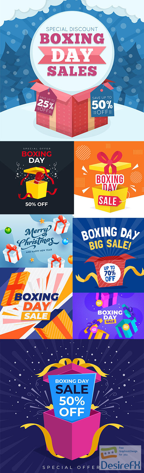 Design Boxing day sale