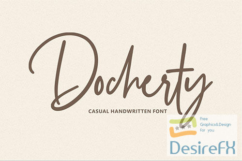 Docherty - Casual Handwritten