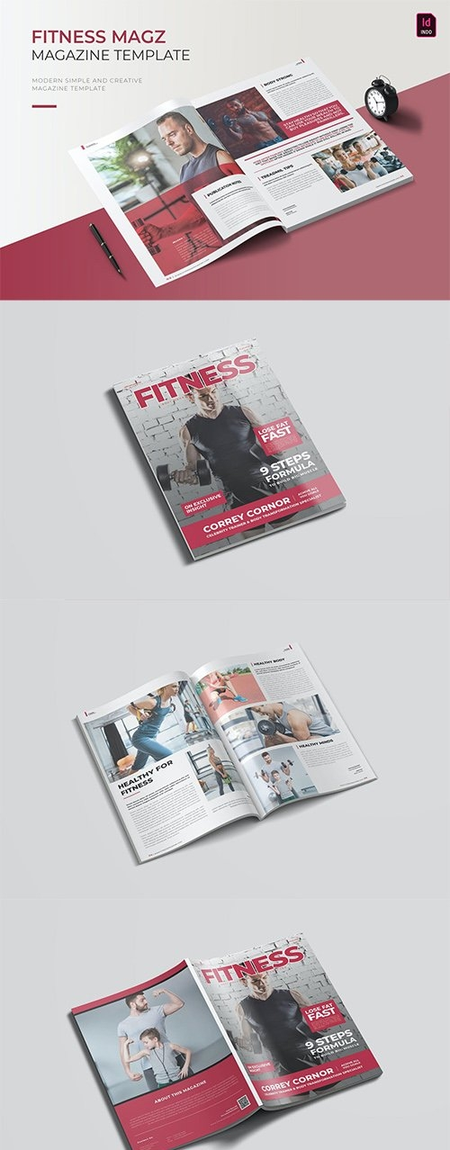 Fitness | Magazine Template
