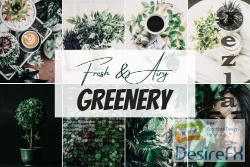 Fresh & Airy - Greenery Mobile Lightroom Preset