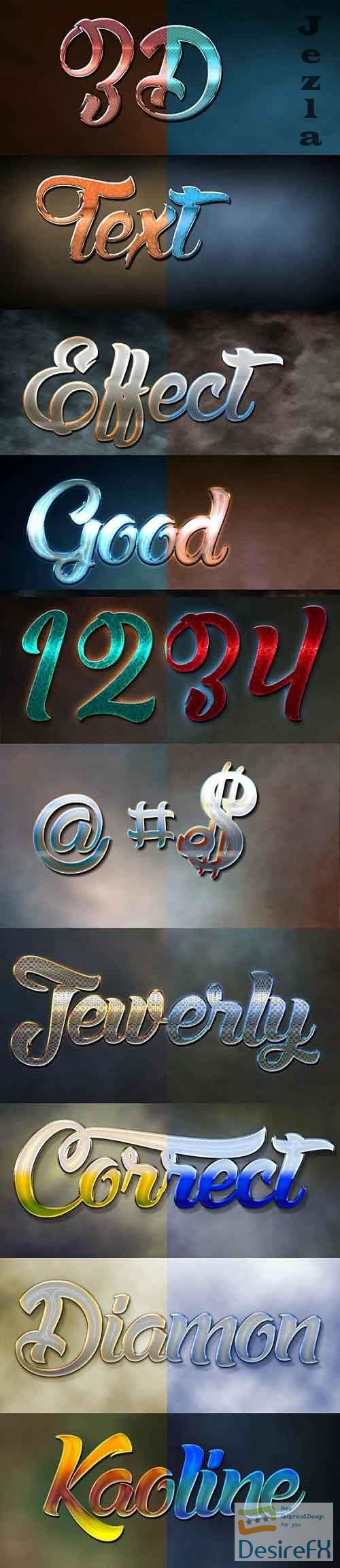 GraphicRiver - 10 3D Text Effect 29_09_20 28755387