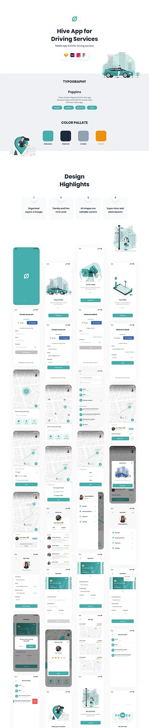 Hive App | Driving Service