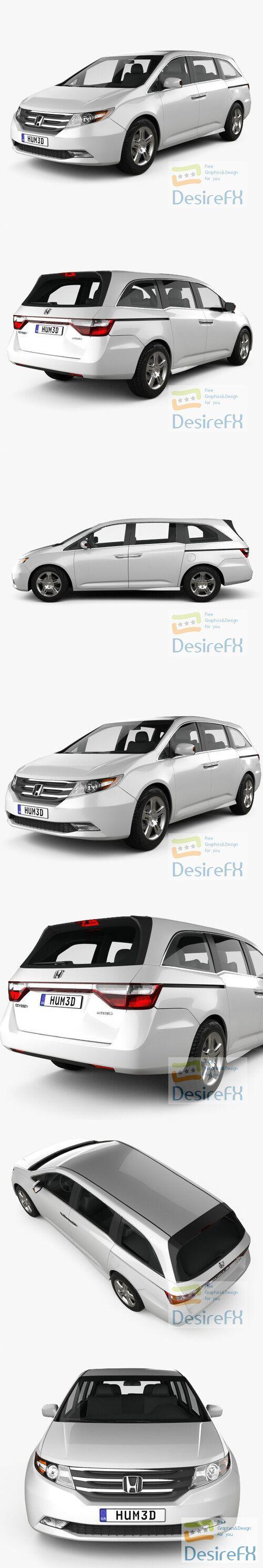 Honda Odyssey 2011 H3D Model