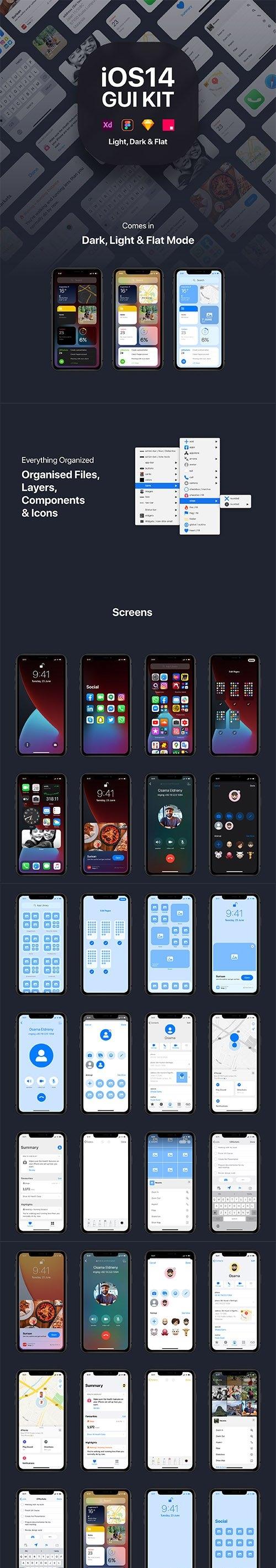 iOS14 GUI KIT
